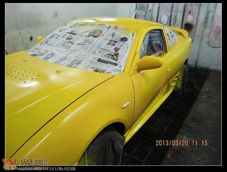 改装世界上最便宜的两门跑车 吉利美人豹 酒都车友 宜宾零高清图片