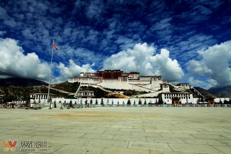 传说中的西藏拉萨 传说中的布达拉宫